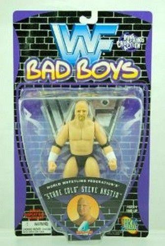 Stone Cold Steve Austin WWF Wrestling Action Figure Bad Boys NIP NIB