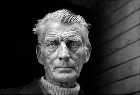Samuel Beckett 1976 by Jane Bown