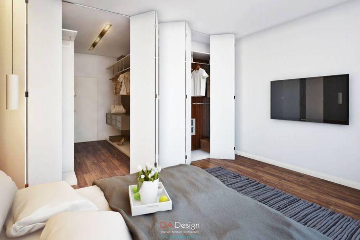 Las puertas plegables permiten subdividir o unificar ambient…