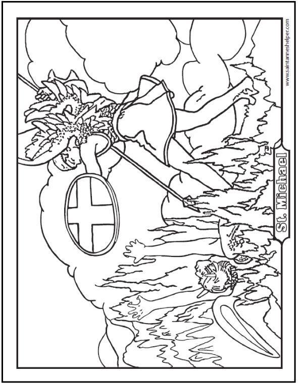 roman catholic coloring pages - photo#16