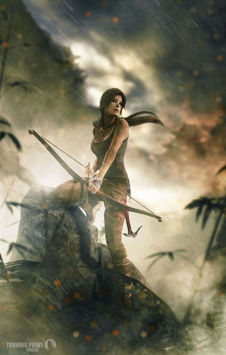 Lara Croft, Tomb Raider reboot as featured on the DeviantArt site. Turning+Point+WEB+-+Kyudo+Remake+by+FearEffectInferno.deviantart.com+on+@deviantART