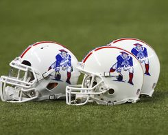 I need one of these New England Patriots Throwback Helmets to go along with my others.