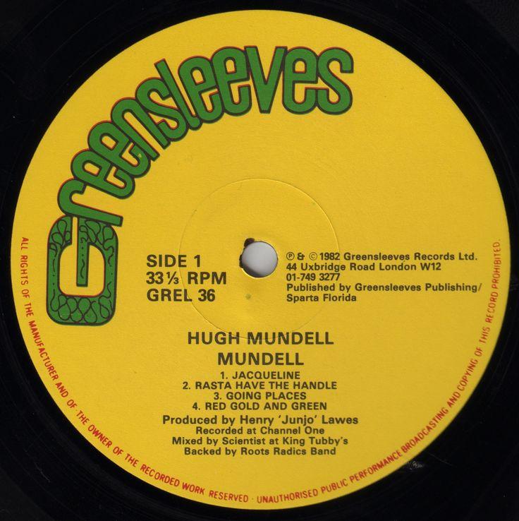 Hugh Mundell - Mundell (Label)