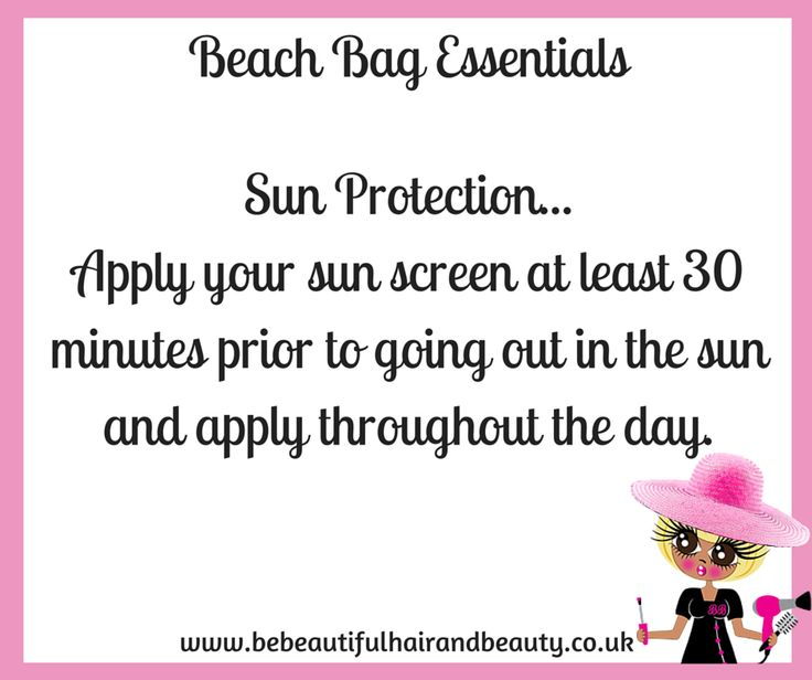 Summer Beach Bag Essentials Tip #1