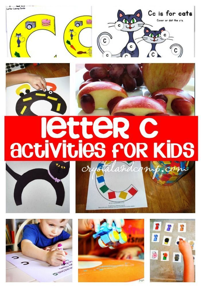 25 letter c crafts for kids