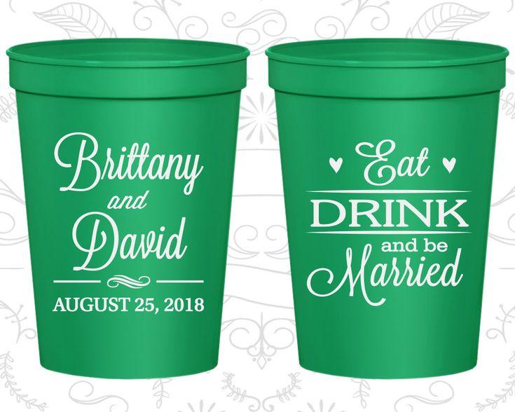 Kelly Green Stadium Cups, Kelly Green Cups, Kelly Green Plastic Cups, Kelly Green Party Cups, Kelly Green Wedding Cups (C30)