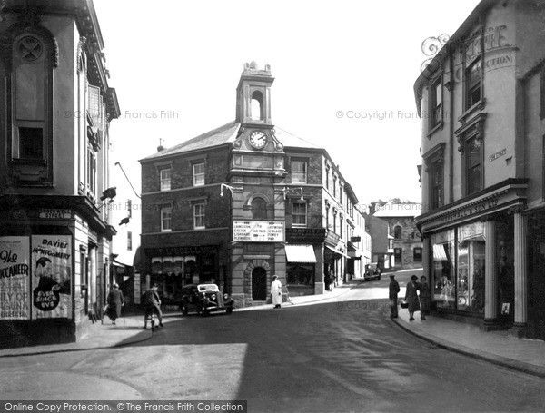 Bodmin, Town Clock 1938, from Francis Frith