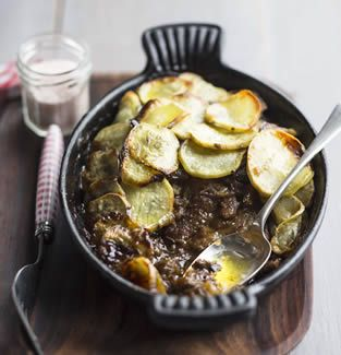 Lancashire Hot Pot with Crispy Sweet Potato Topping | Real Meal Revolution