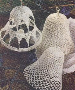 Free Crochet Lace Bells: Belle Ornaments, Belle Patterns, Christmas Crochet Patterns, Free Pattern, Christmas Belle, Crochet Christmas, Crochet Lace, Christmas Ornaments, Crochet Belle
