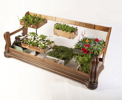 Repurposed Or Recycled Project   Great Idea To Display Plants Or Even A  Small