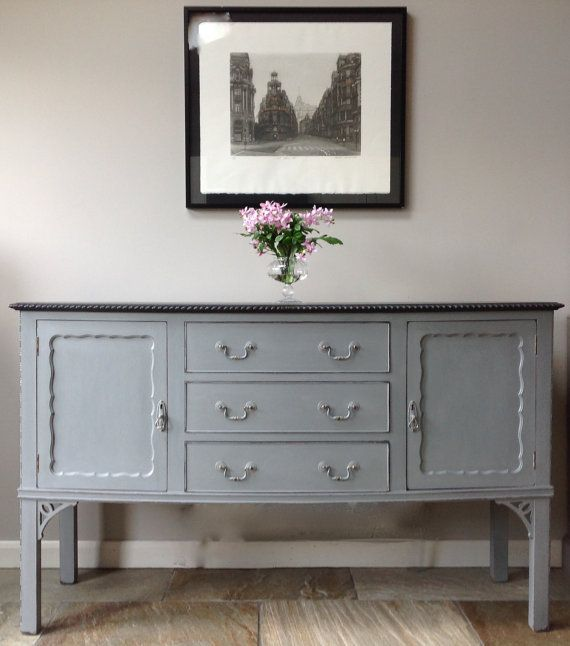 *NOW SOLD* Antique Edwardian Victorian French Style Grey by ClyneCoFurniture