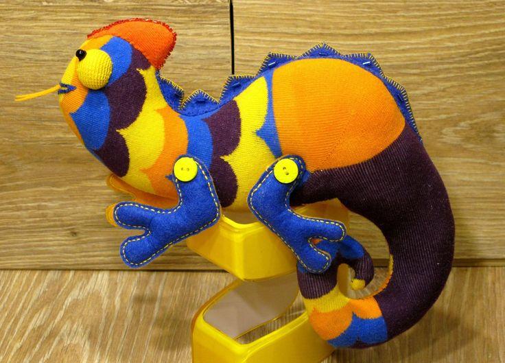 Хамелеон из носков