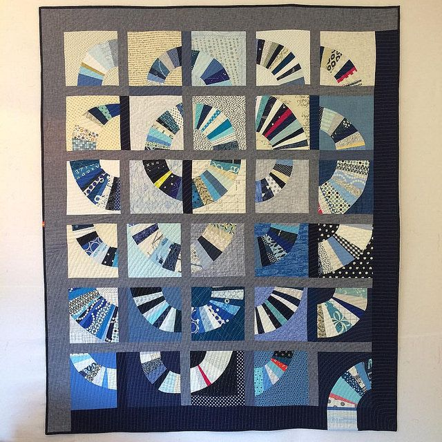 Finished Do. Good Stitches quilt. Maybe I say this about all my quilts, but I think this one is my favorite.