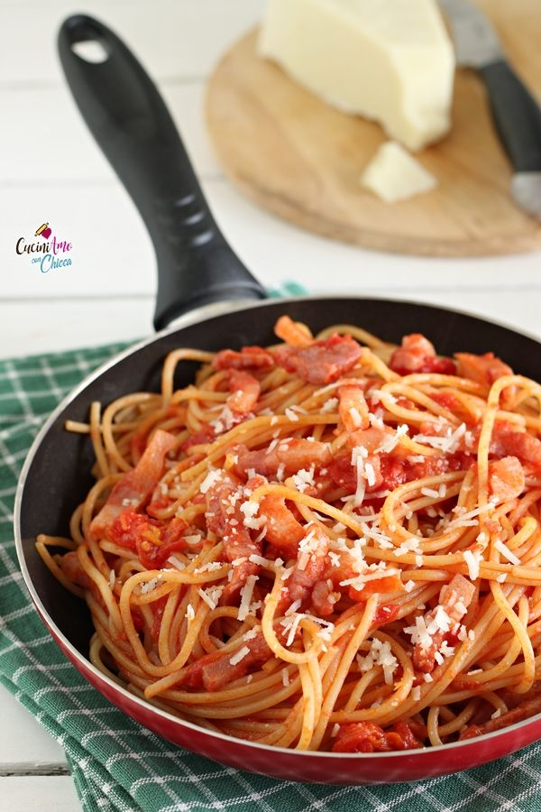 Ricette Amatriciana