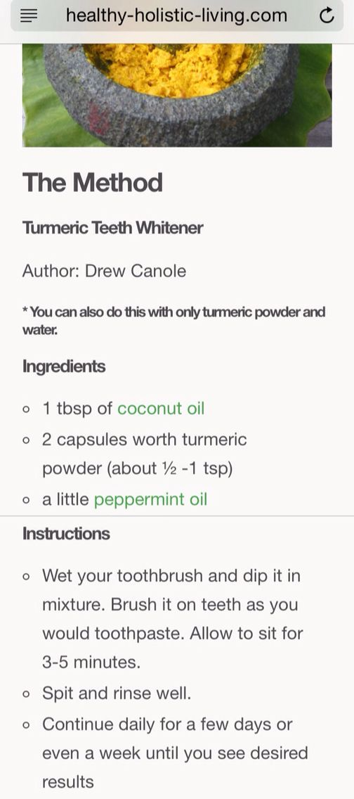 Turmeric teeth whitener *** Get a free blackhead mask, link in bio! @beautycharcoal
