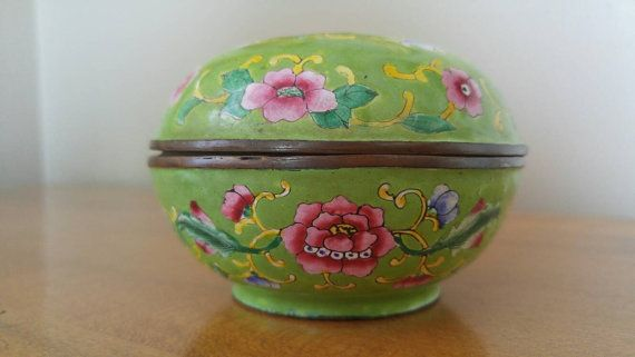 Hey, I found this really awesome Etsy listing at https://www.etsy.com/ca/listing/451045284/vintage-chinese-cloisonne-enamel-round