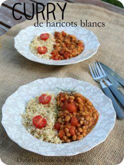 Rencontre et mariage fructueux du terroir français avec la cuisine indienne : curry de haricots blancs