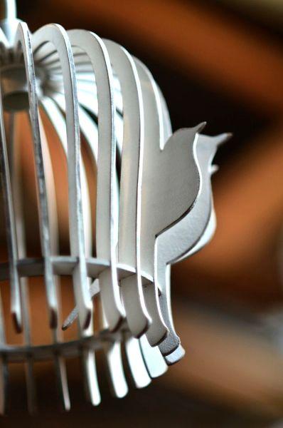 BirdCage Pendant Detail