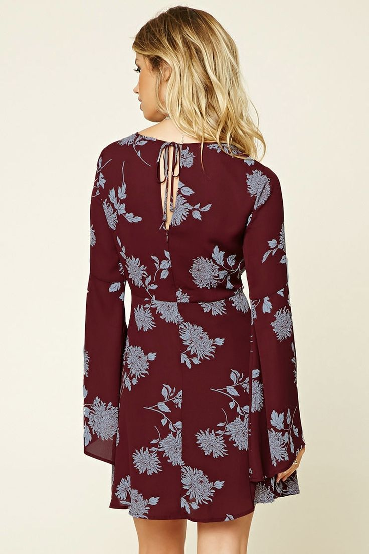 Contemporary Floral Print Dress | Forever 21 - 2000236071