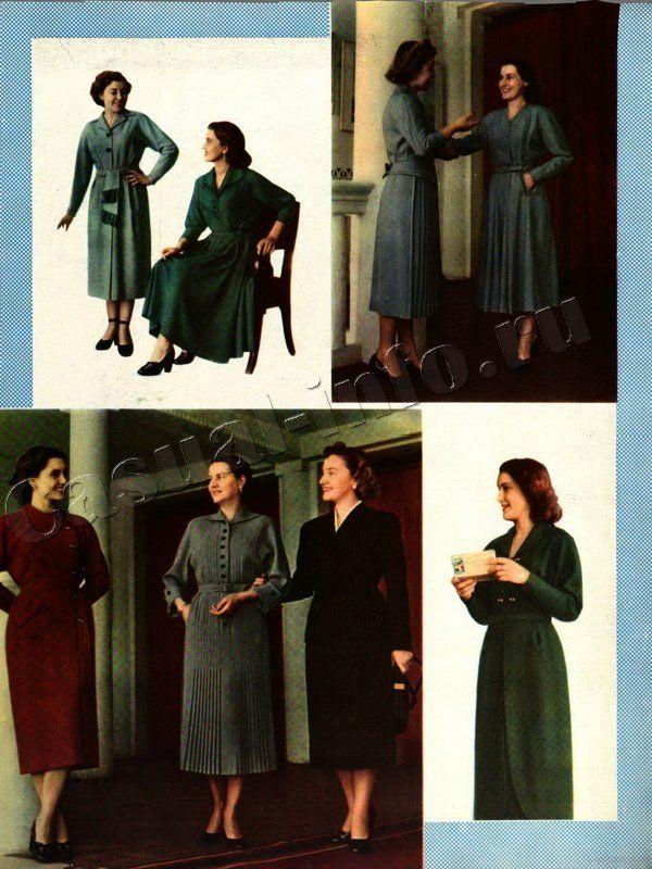1950s fashion, USSR