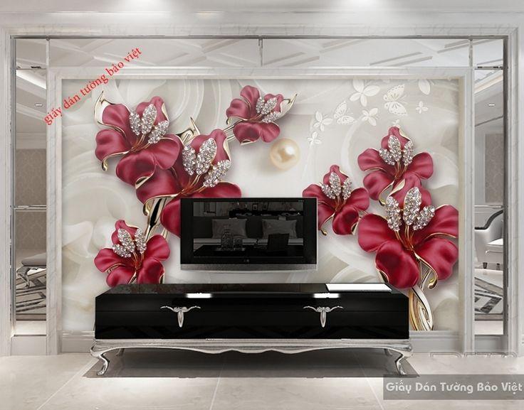 Giấy dán tường 3D-FL054 | Giấy dán tường Bảo Việt