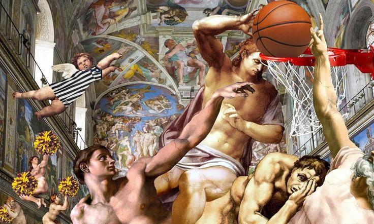 Quand la peinture classique pète les plombs – Barry Kite (image)