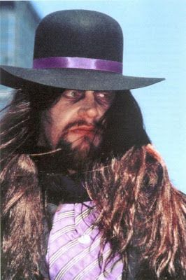 One of the many faces of the Undertaker in his storied career
