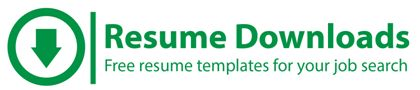 Welcome to ResumeDownloads.net Learn how to write a resume and how to write a cover letter for a job using our free resume templates and resume cover letter examples.  We offer a variety of industry resume templates that can be downloaded, customized and submitted in your job search.