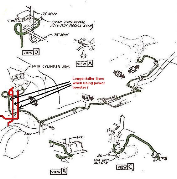 Break Line Diagram For 1999 Chevrolet 2500 Silverado
