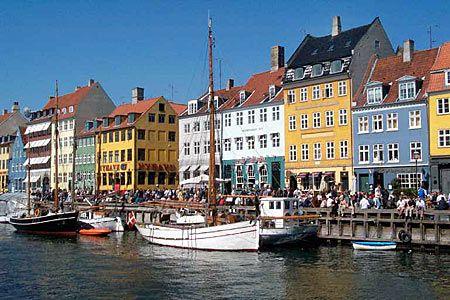 Kopenhagen, Denemarken, Zomer 2013
