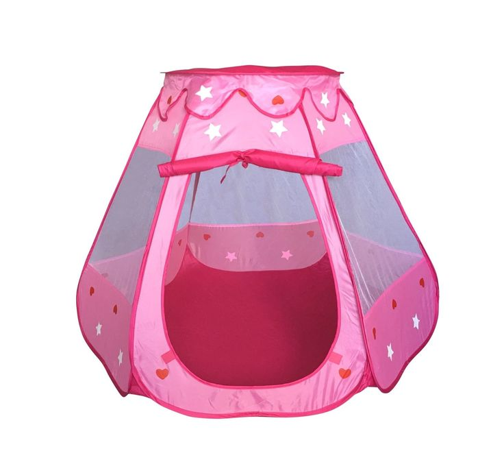 SueSport Girls Pink Princess Play Tent Indoor and Outdoor Children Play Tent