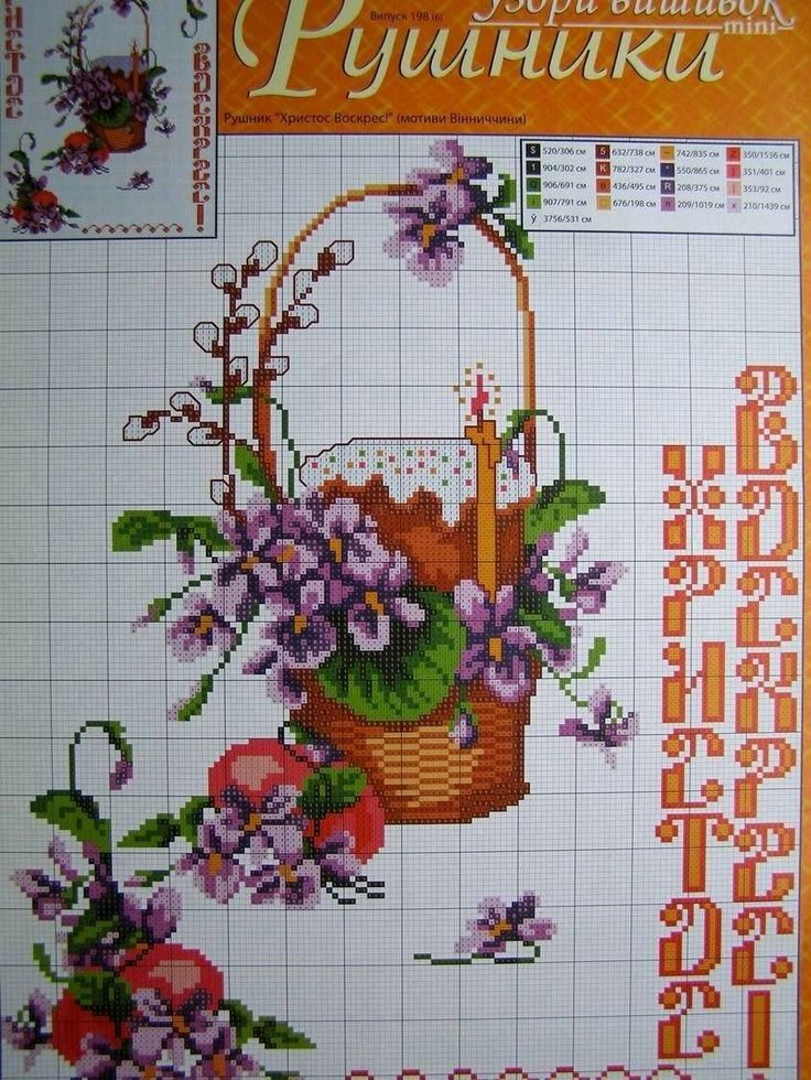 Cross Stitch Easter Pattern Towel Napkin Tablecloth Pillow Ukrainian Embroidery | eBay