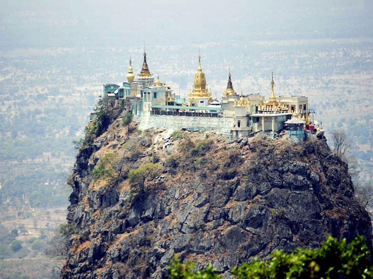 Popa Taungkalat Monastery, Burma : Europe : TravelChannel.com