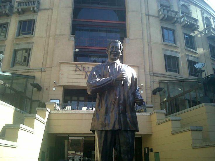 Madiba Statue, Sandton