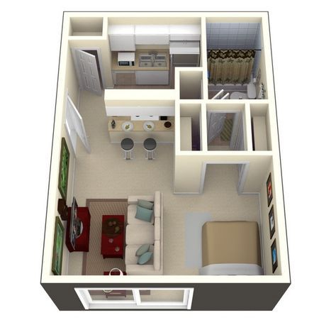 215 best Maisons - Plans 3D images on Pinterest Floor plans, House - logiciel plan appartement gratuit