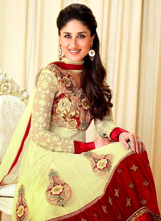 hairstyles for lehenga and anarkali kareena