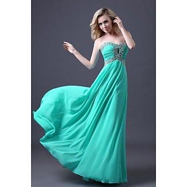 Linija dušo poda šifon prom haljina es012 – USD $ 69.99