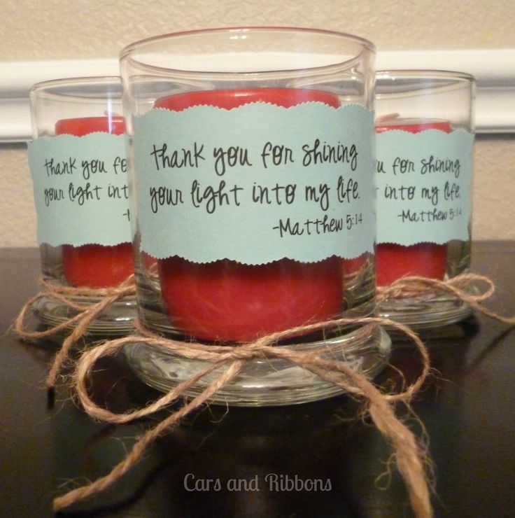 Simple Thank You Gift | It's a very simple thank you gift that is perfect for a special ...