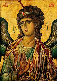 Archangel Gabriel Icon by Anonymous, c.13th Century, Monastery of Saint Catherine, Sinai, Egypt.