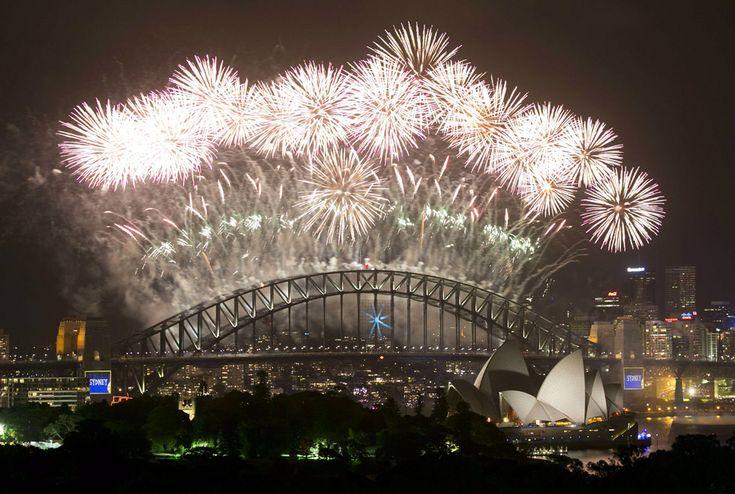 La celebración en Sídney. | Reuters.