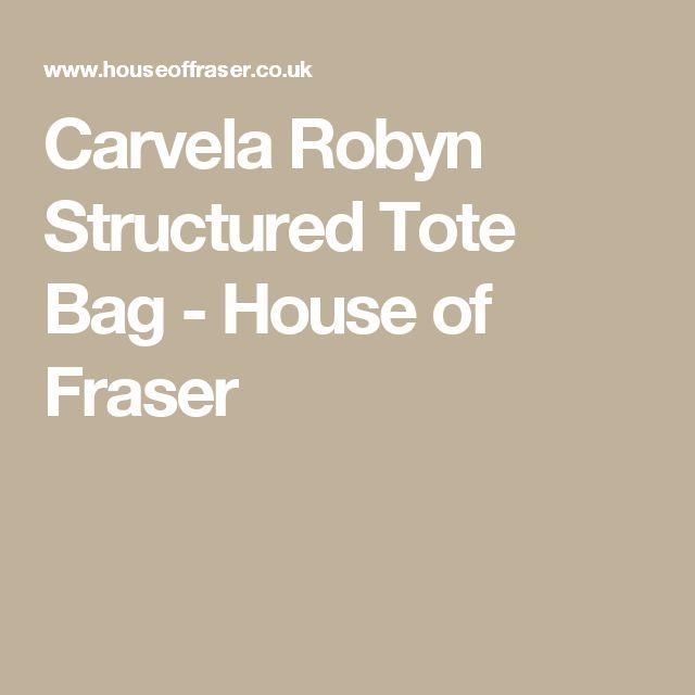 Carvela Robyn Structured Tote Bag - House of Fraser