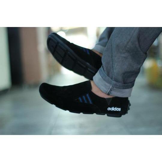 e96510e4ad7bb Belanja Sepatu Casual Slop Pria Trendy Kulit Suede Best Seller (Sepatu  Santai