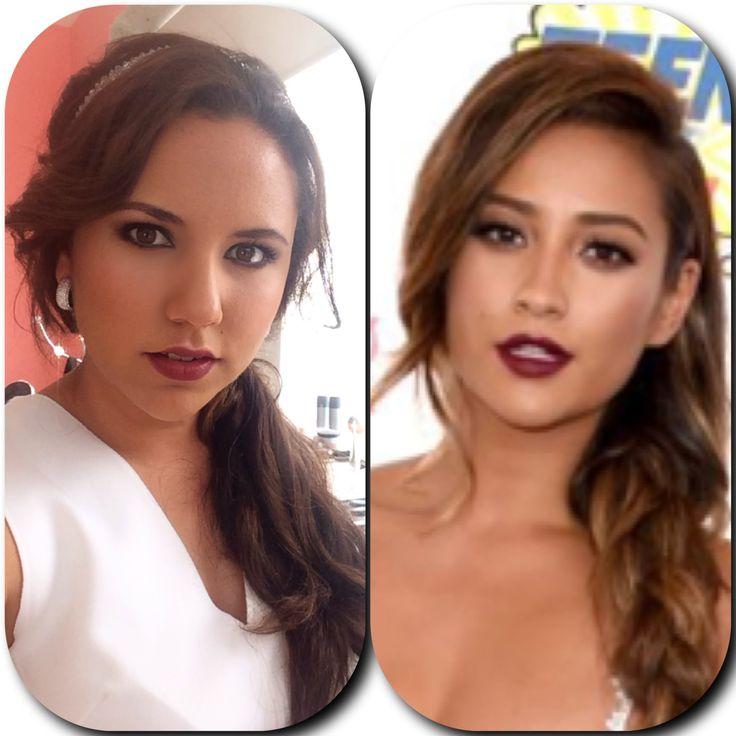 Shay Mitchell Makeup tutorial teen choice awards