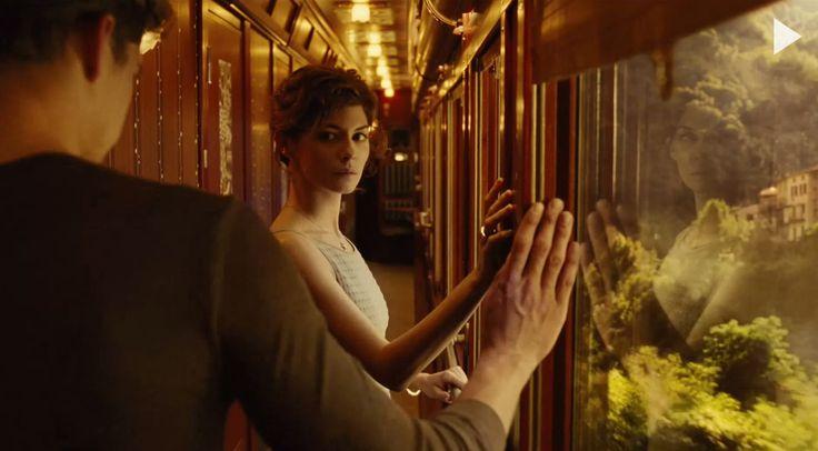 "Jean-Pierre Jeunet<br />CHANEL N°5 advertising film from 2009, ""Train de Nuit"", by Jean-Pierre Jeunet, with Audrey Tautou"