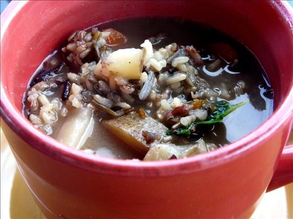 Wild Rice and Mushroom Soup. Love | Soups on! | Pinterest