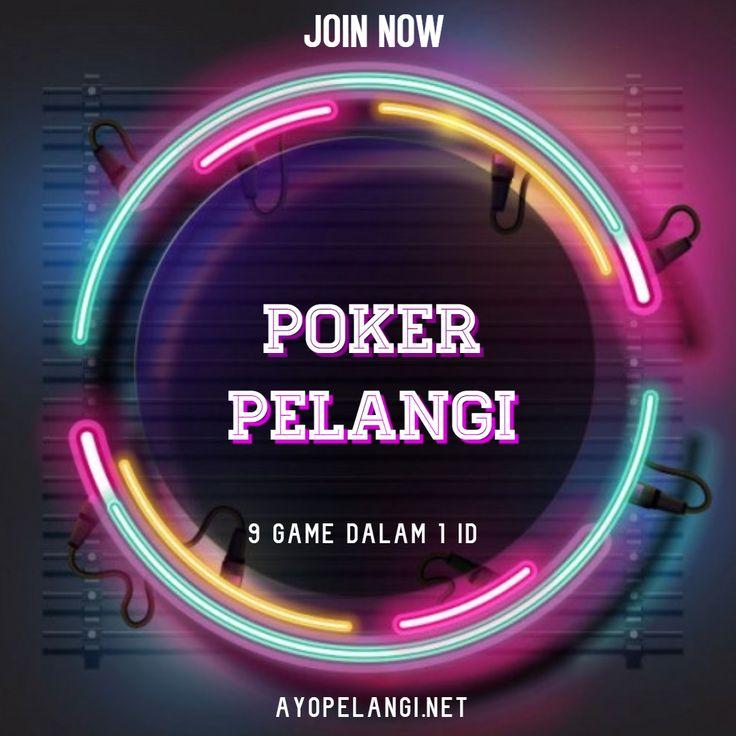 Pin Di Poker Pelangi