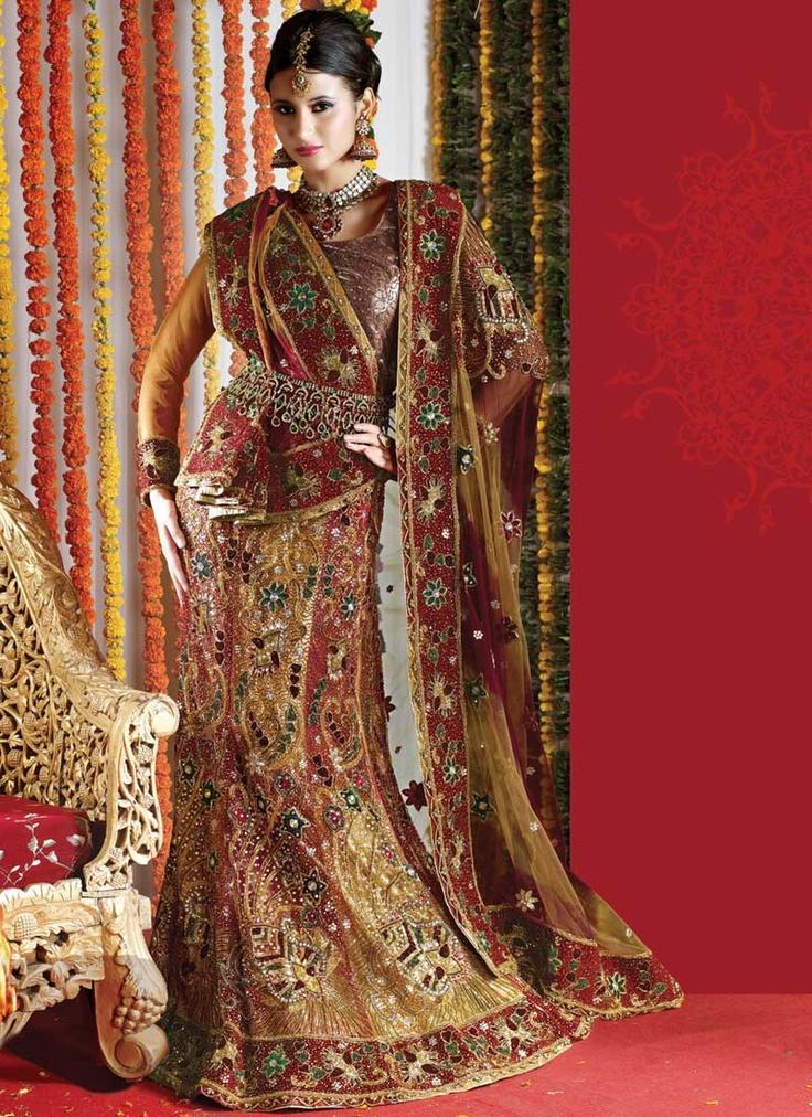 Exquisite Embroidered Net Lehenga Choli