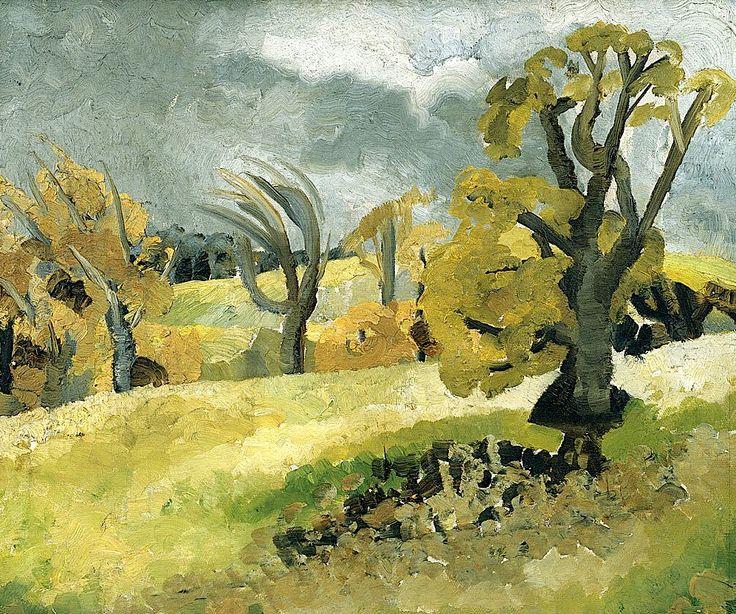 Winifred Nicholson, Cumberland Landscape, c. 1926