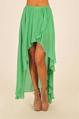 Grunge Flow Skirt