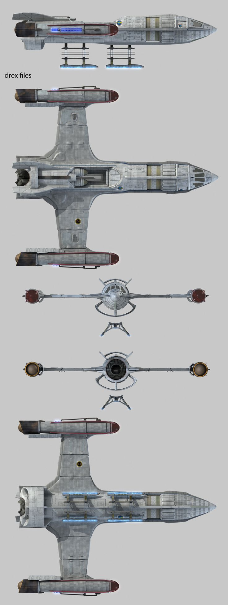 Starfleet vessel from Enterprise First starfleet ship to include the warp engine designed by Henry Archer.